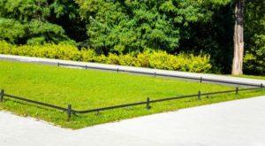 barierki trawnikowe