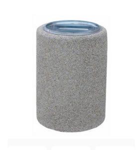 kosz betonowy okrągły